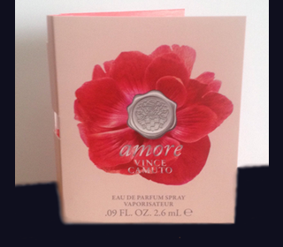 Picture of my Vince Camuto Amore Perfume Free Sample
