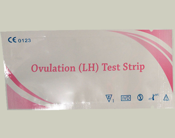 Picture of my Ovulation LH Test Strip Free Sample