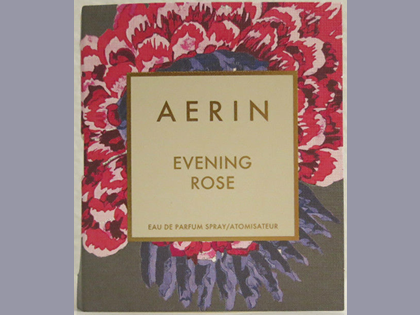 Picture of my Aerin Evening Rose EDP Spray Free Sample