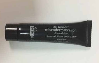 Picture of my Dr Brandt Microdermabrasion Skin Exfoliant Free Sample