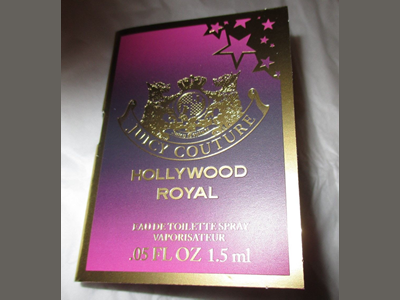 Picture of my Juicy Couture Hollywood Royal EDT