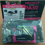 Picture of my U By Kotex Panty Liners and Tampons Free Sample Pack