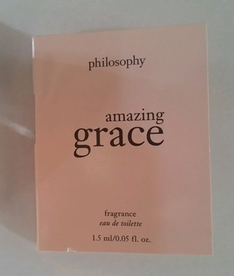 Picture of Philosophy Amazing Grace EDT Free Sample
